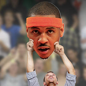 Carmelo Anthony Big Head Cut Out