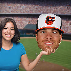 Chris Davis Big Head Cut Out