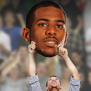 Chris Paul Big Head Cut Out
