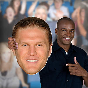Clay Matthews Big Head Cut Out