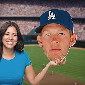 Clayton Kershaw Big Head Cut Out