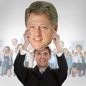Bill Clinton Big Head  Cut Out