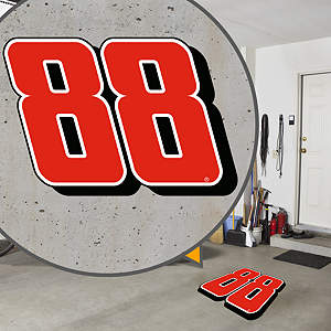 Street Grip outdoor decal of Ohio State's logo