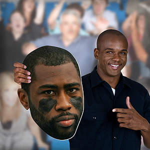 Darrelle Revis Big Head Cut Out
