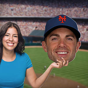 David Wright Big Head Cut Out