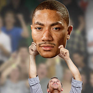 Derrick Rose Big Head Cut Out