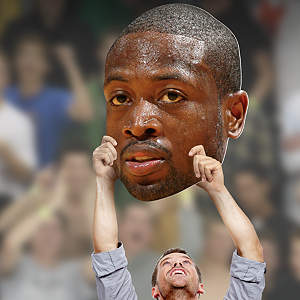 Dwyane Wade Big Head Cut Out