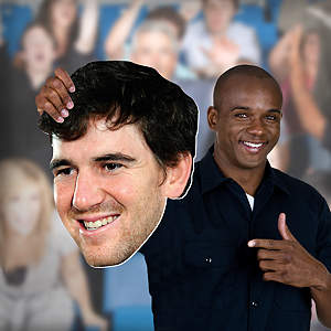Eli Manning Big Head Cut Out