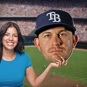 Evan Longoria Big Head Cut Out