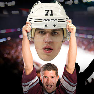Evgeni Malkin Big Head Cut Out