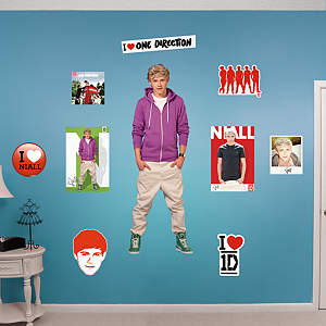 Niall Horan: One Direction Fathead Wall Decal