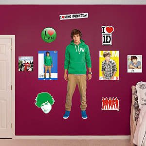 Liam Payne: One Direction Fathead Wall Decal