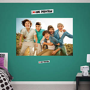 One Direction: Best Mates Mural Fathead Wall Decal