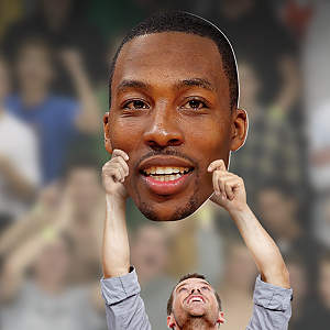 Dwight Howard Big Head Cut Out