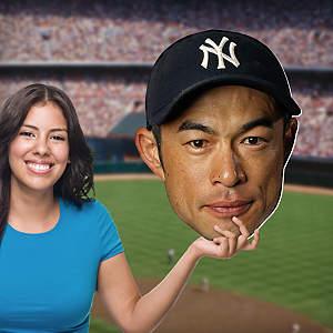 Ichiro Big Head Cut Out