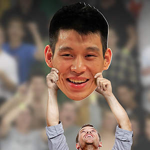 Jeremy Lin Big Head Cut Out