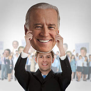 Joe Biden Big Head  Cut Out