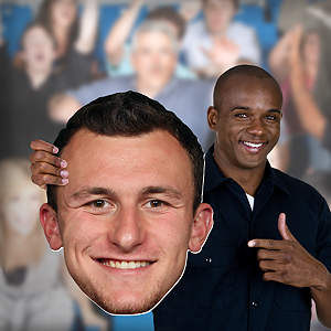 Johnny Manziel Big Head Cut Out