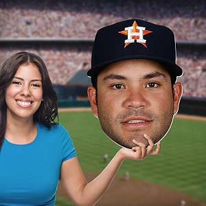 José Altuve Big Head Cut Out