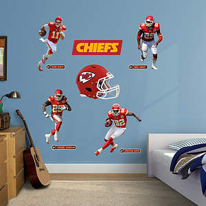Kansas City Chiefs Power Pack Fathead Wall Decal