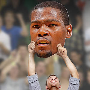 Kevin Durant Big Head Cut Out