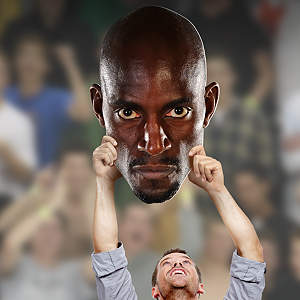 Kevin Garnett Big Head Cut Out