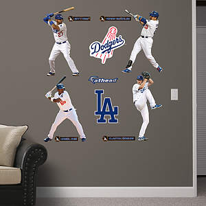 Los Angeles Dodgers Power Pack Fathead Wall Decal