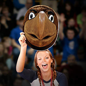 Testudo Big Head - Maryland Cut Out