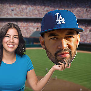 Matt Kemp Big Head Cut Out
