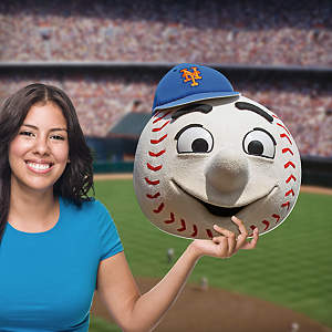 Mr. Met Big Head Cut Out