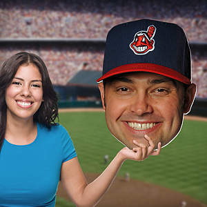 Nick Swisher Big Head Cut Out