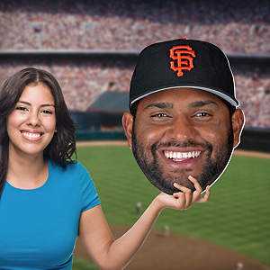Pablo Sandoval Big Head Cut Out