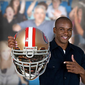 Patrick Willis Game Day Big Head Cut Out