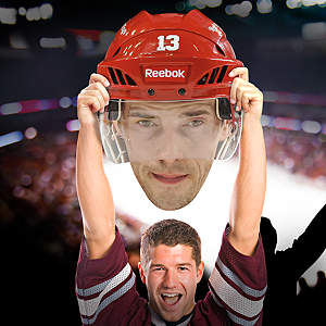 Pavel Datsyuk Big Head Cut Out