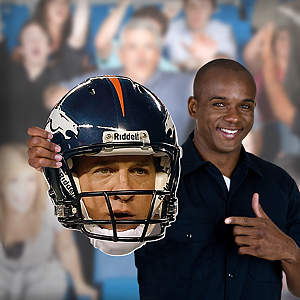Peyton Manning Game Day Big Head Cut Out