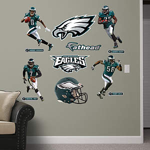 Philadelphia Eagles Power Pack Fathead Wall Decal