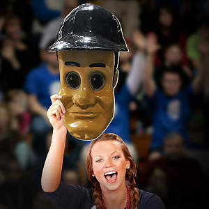 Purdue Pete Big Head - Purdue Cut Out