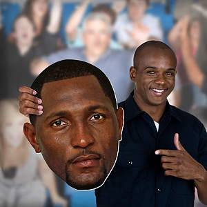 Ray Lewis Big Head Cut Out