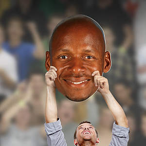 Ray Allen Big Head Cut Out