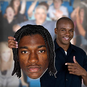 Robert Griffin III Big Head  Cut Out