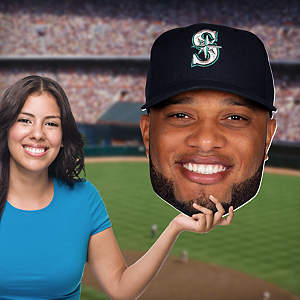 Robinson Cano Big Head Cut Out