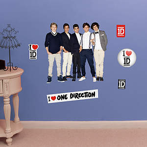 One Direction  – Fathead Jr. Fathead Wall Decal
