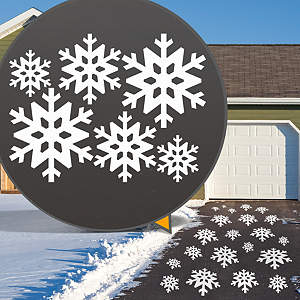 Snowflake Collection Street Grip Outdoor Graphic