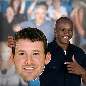 Tony Romo Big Head Cut Out