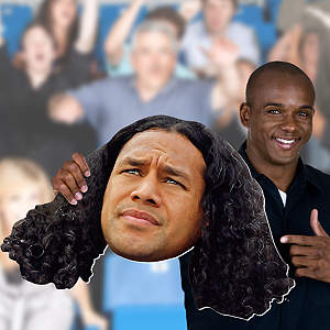 Troy Polamalu Big Head Cut Out