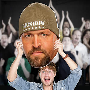 Big Show Big Head Cut Out