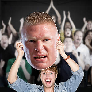 Brock Lesner Big Head Cut Out