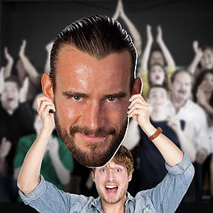 CM Punk Big Head  Cut Out