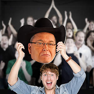 Jim Ross Big Head Cut Out