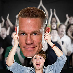 John Cena Big Head Cut Out